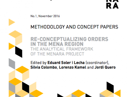 Re-Conceptualizing Orders in the Mena Region. The Analytical Framework of the MENARA project