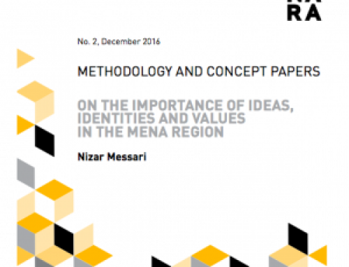 On the Importance of Ideas, Identities and Values in the MENA Region
