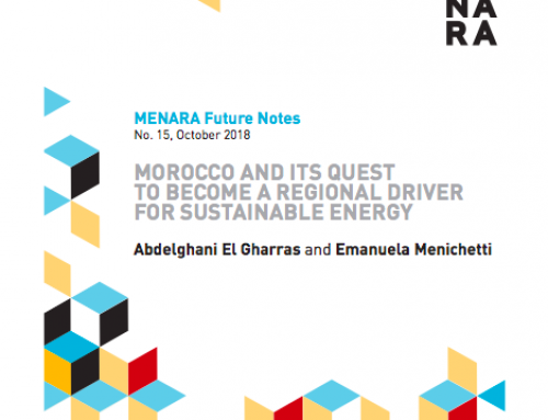 Morocco and Its Quest to Become a Regional Driver for Sustainable Energy