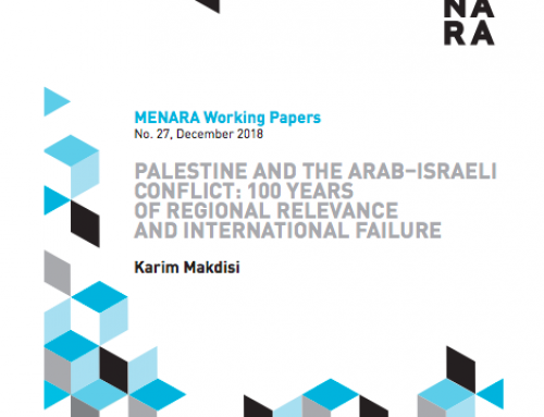 Palestine and the Arab–Israeli Conflict: 100 Years of Regional Relevance and International Failure