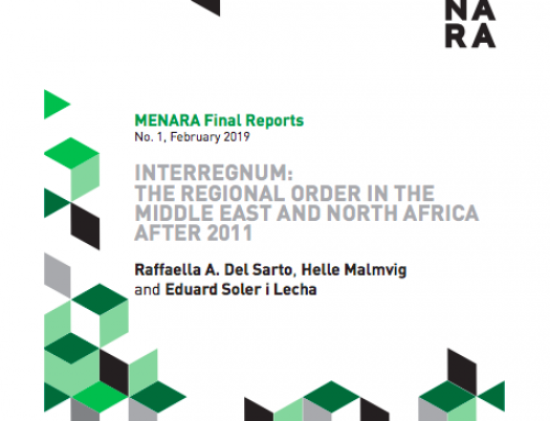 Interregnum: The Regional Order in the Middle East and North Africa after 2011