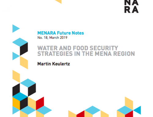 Water and Food Security Strategies in the MENA Region