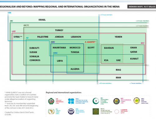 Regionalism and Beyond: Mapping Regional and International Organizations in the MENA