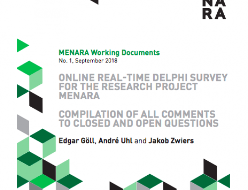 ONLINE REAL-TIME DELPHI SURVEY FOR THE RESEARCH PROJECT MENARA